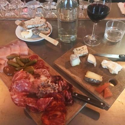 Bastardplanka (+ cheese plate) at Bastard