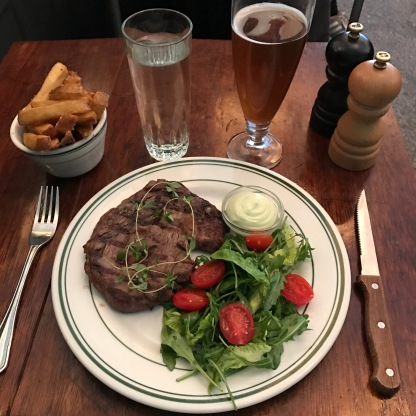 Steak at Granola