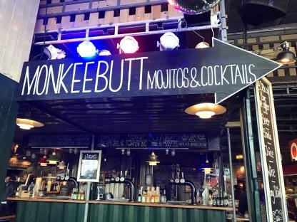 A stall inside Copenhagen Street Food