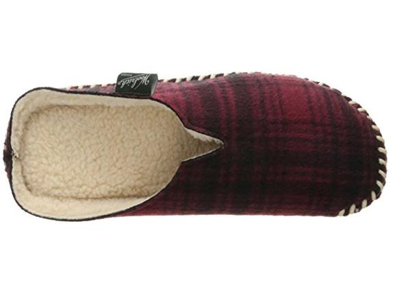 Amazon com Woolrich Men s Fleece Mill Scuff Slipper Slippers